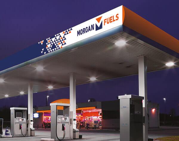 Morgan Fuels Filling station