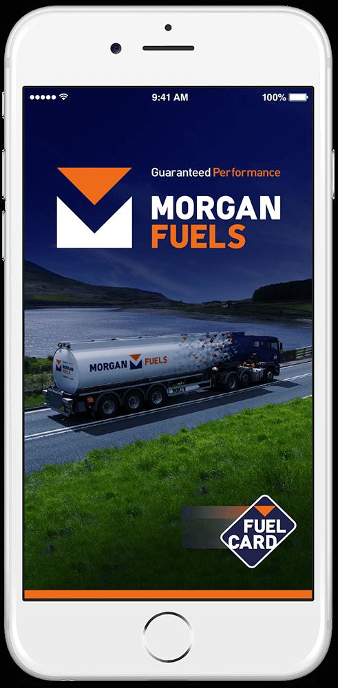 Morgan Fuel Card App - iPhone / Android